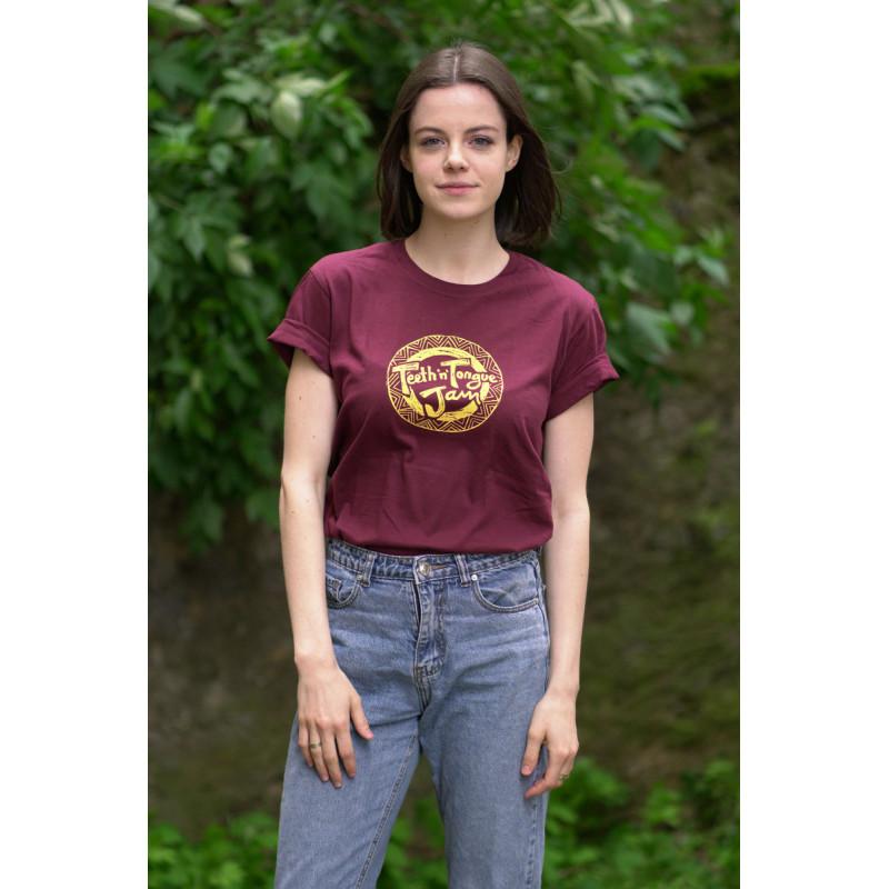 t-shirt T'n'T burgundy